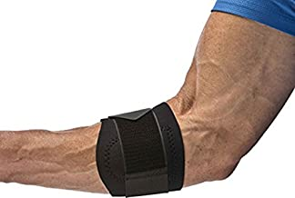 Cho-Pat Golfer's Elbow Support - Provides Forearm Support, Stabilizes Muscles, Alleviates Pain - Developed in Cooperation w/ MAYO CLINIC - Small (8.5