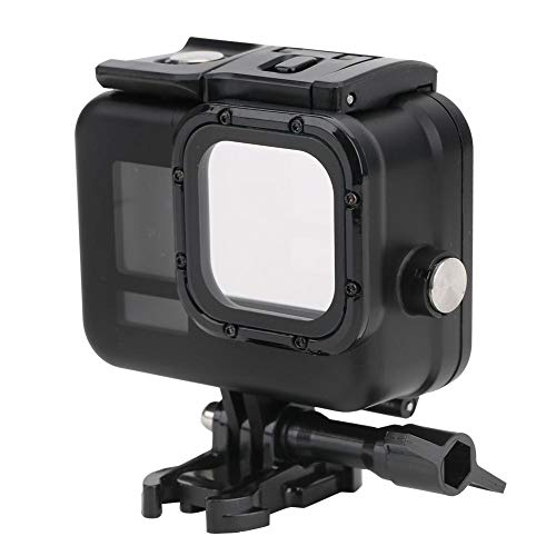 Waterdichte camerabehuizing Case voor GoPro Hero 8, 60m Waterproof Diving Beschermende behuizing Behuizing Accessoire voor duiken, surfen, snorkelen, zwemmen, skiën