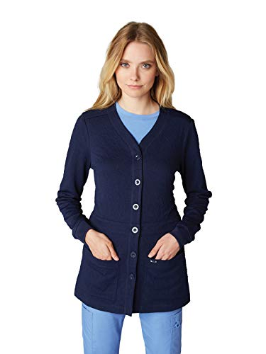 KOI 440 Women's Claire Knit Jacket Navy 2XL