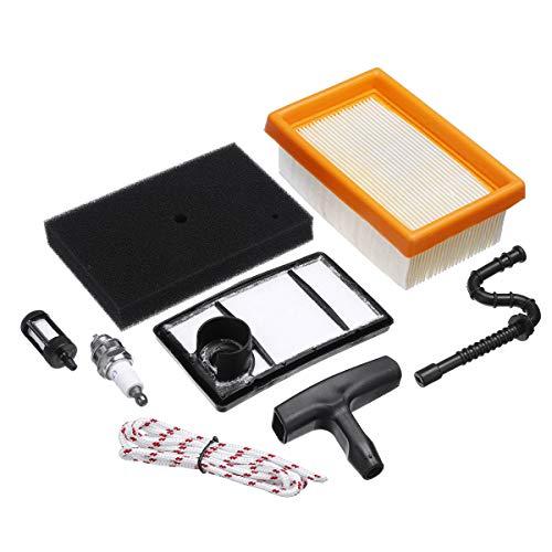 ILS - 8 stuks Mower Filter Accessoires Gereedschap onderdelen Replacement Set voor STIHL TS400