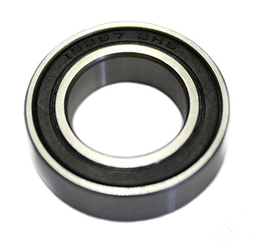 CQ (c) 15267 2RS/2RS1/RS/2RSR/LLU/MR (afmetingen: 15x26x7 mm) van CQ (c) kogellagers binnendiameter 15 mm fiets mountainbike Variable Geschwindigkeit Zwarte afdekruiten.