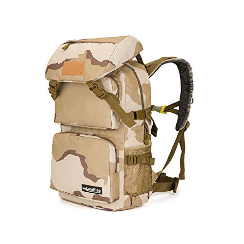 WHALLO Hiking Daypacks,Large Capacity Hiking Backpack,for Hiking Trekking Camping Climbing and Other Outdoor Activities