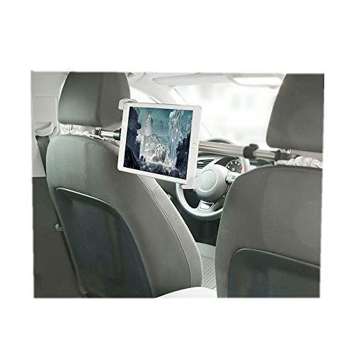 LIUQIGRASS Titolare Centrale Poggiatesta Tablet, Universale A 360 ° Gradi Regolabile Sede di Rotazione Car Holder Mount per Tablet 7-10,5 Pollici, per iPad/Samsung Galaxy Tab