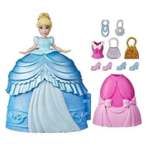 Disney Princesa Styling - Juego de muñeca Sorpresa de Cenicienta con Vestidos y Accesorios, Juguete para niñas a Partir de 4 años