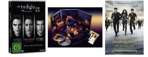 Twilight 1-5 * Teil 1+2+3+4.1+4.2 Breaking Dawn alle Teile