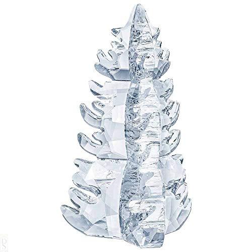 Swarovski - Albero di Natale con Cristalli, 13 Pezzi, Colore: Bianco