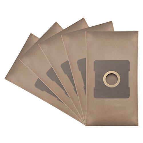 ?WESSPER® Bolsas de aspiradora para Solac AB2845 Beagle Friend (5 Piezas, Papel)
