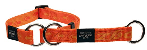 Rogz HBC27-D Alpinist Stopp- Halsband/Everest, XL, orange