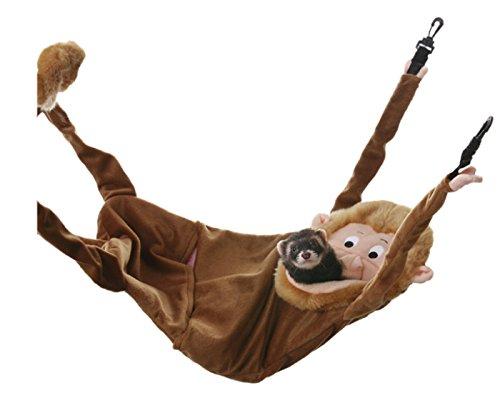【マーシャルペット】アメリカマーシャルペット社製フェレットちゃん用ハンモック フェレットハンモック ハンギングモンキー