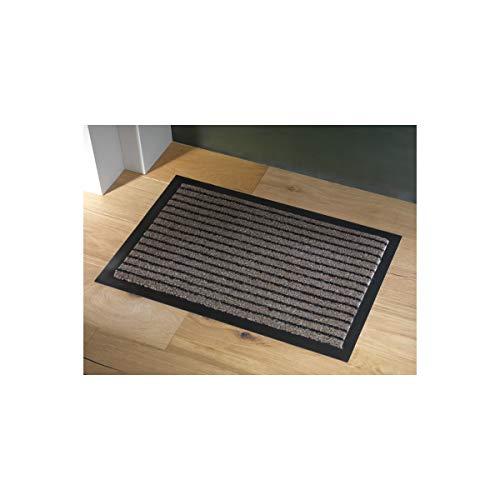 Mercury Flooring - Tapis Grattant 40X60 - Couleur : Marron