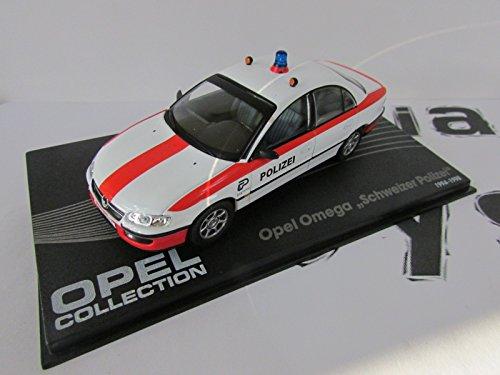 Générique Opel Omega Police Suisse 1:43