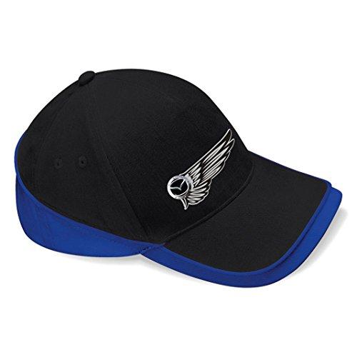 mmshop18 Mazda - Auto Flügel Baseball Cap Mütze -c105 (sw-blau)