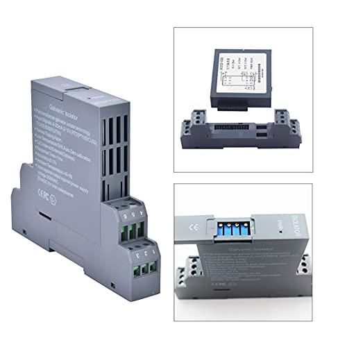 Signalisolering, sändare, skena typ 1 in 1 ut sändare för tvåtrådssändare Strömkälla Tre-trådsändare(DC4-20mA input)