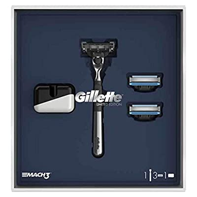 Gillette Mach 3 Razors For Men, Limited Edition, incl. 3 blades
