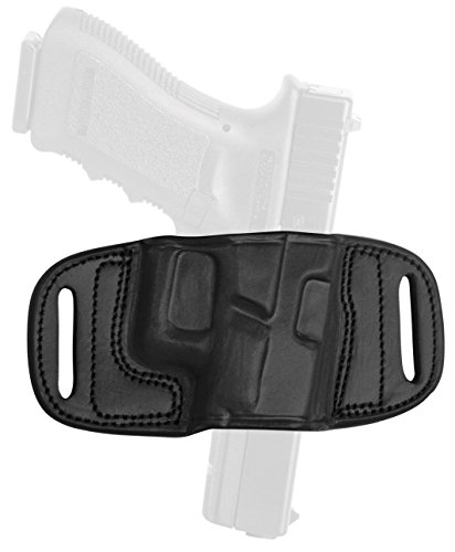 Tagua 1911 5-Inch Quick Draw Belt Holster, Black, Right Hand