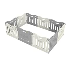Genuine play pen for Baby Care Play Mats No tools needed to assemble or disassemble Phthalate Free, BPA Free, Lead Free, Latex Free, Formaldehyde Free, EVA Free Waterproof, Hygienic and tested to European Toy Standards EN71 One Play Pen encloses 31.6...
