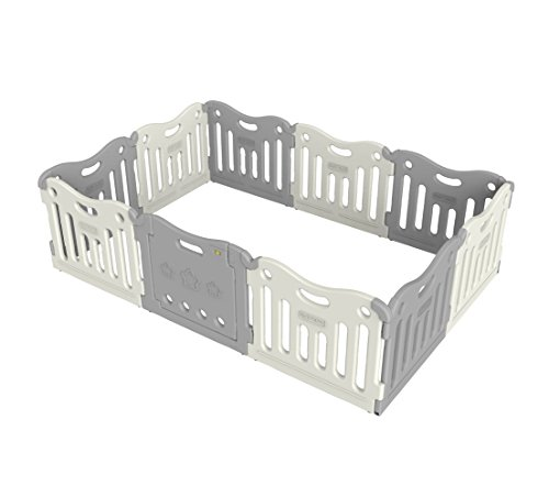 Baby Care Play Mat Funzone Play Pen (Grey)