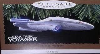 Hallmark Keepsake Ornament - Star Trek U.S.S. Voyager Magic Light Ornament 1996 (QXI7544) by Hallmark