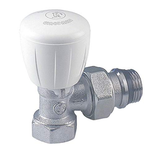 Giacomini - Grifería gas de radiador - Válvula escuadra R421TG 3/8