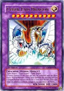 Yu-Gi-Oh! - Cyber End Dragon (CRV-EN036) - Cybernetic Revolution - Unlimited Edition - Ultimate Rare