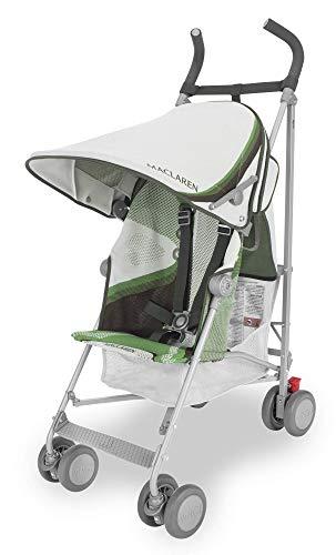 Maclaren Volo Wing Knit Silla de paseo, ligera, de los 6 meses hasta los 25 kg, suspensión en las 4 ruedas, Capota extensible con UPF 50+