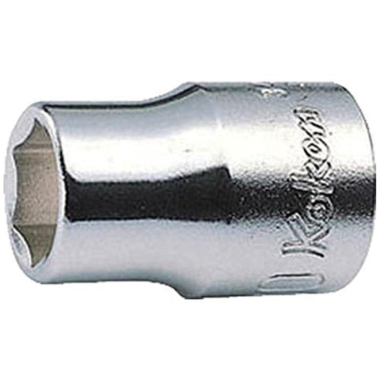 リーク小間通常コーケン 3/8(9.5mm)SQ. 6角ソケット 17mm 3400M-17