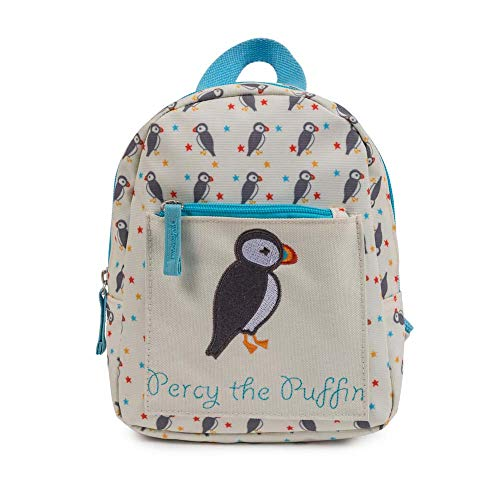 Pink Lining Kinderrucksack Mini Backpack Percy the Puffin mit Sicherheitsleine