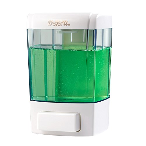 SVAVO V-7101 ABS Plastic Wall Mounted Liquid Soap Dispenser