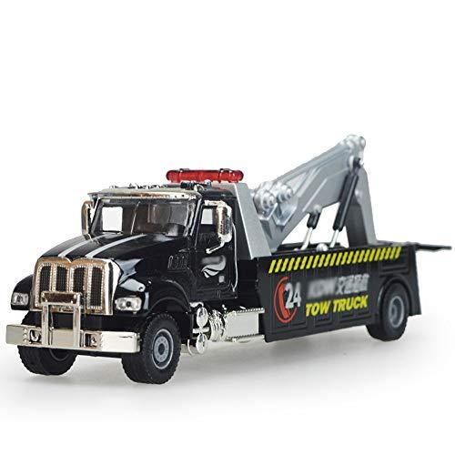 Xolye Legierung Version des Straße Rettungs-Auto-Modell Kinder Spielzeug-Auto-Reparatur-Trailer Rettung Auto Simulation Glideable Metall-Spielzeug-Auto Abschleppwagen Auto-Geschenk-Lehrmittel-pädagogi