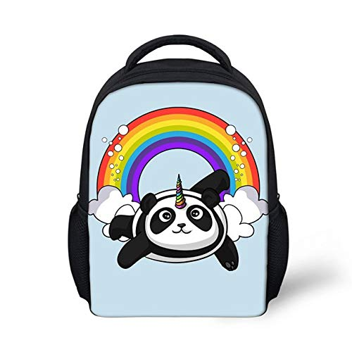 12 Pulgadas de Dibujos Animados Panda 3D niña niño niño niño mochila-CDGX1262