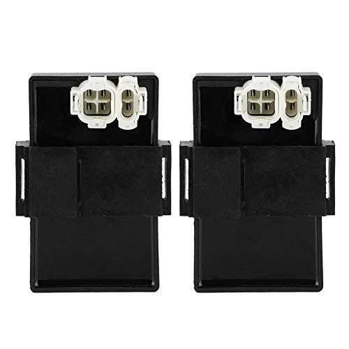 Terisass Scatola CDI Modulo Accenditore Accenditore Moto Scatola Accensione Starter per Hon-da NX500 PD08 PD09 RD02 RD08 30410 ‑ MN9‑000
