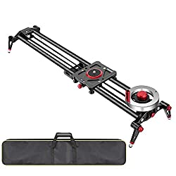 Neewer Camera Slider Video Track, Dolly Rail Stabilizer Review