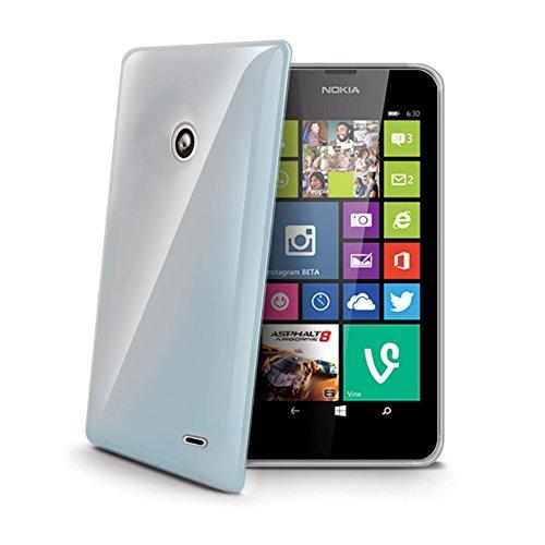 Celly Cover in TPU per Nokia Lumia 630, Trasparente