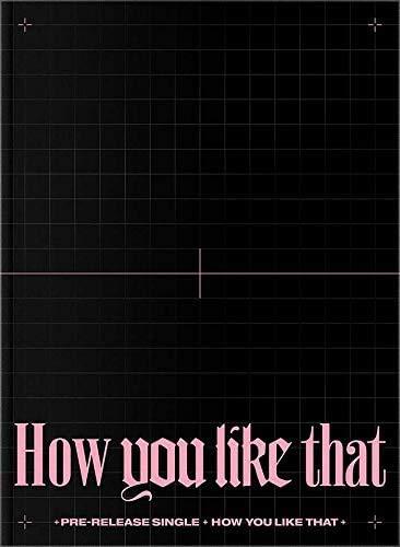 BLACKPINK SPECIAL EDITION How You Like That Album CD+Libro de fotos+2 tarjeta+F.Poster+TRACKING CODE K-POP SEALED