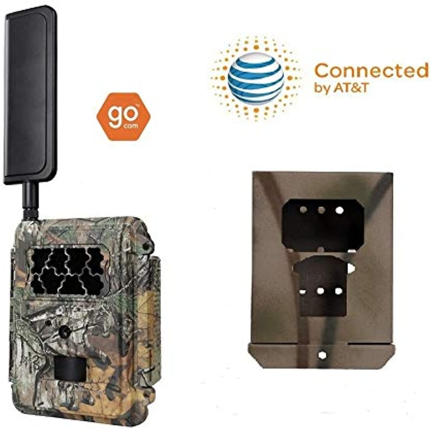 Spartan at&T 4G LTE GoCam Deluxe Package 720P Wireless Trail Camera Blackout IR (Camera and Lock Box)