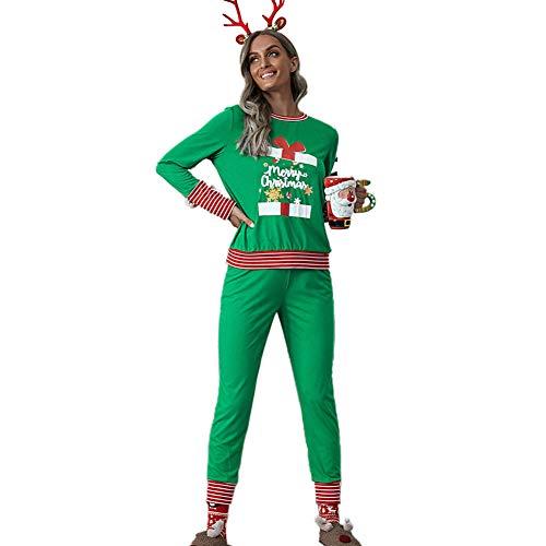 Zebery Conjunto de pijama de Navidad a juego para la familia de Navidad...
