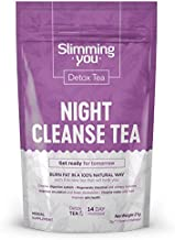 Detox Tea for Weight Loss and Belly Fat, 14 Day Night Cleanse Tea, Teatox Herbal Tea Reduce Bloating, Boost Metabolism, and Smooth Stress (7 Bags)