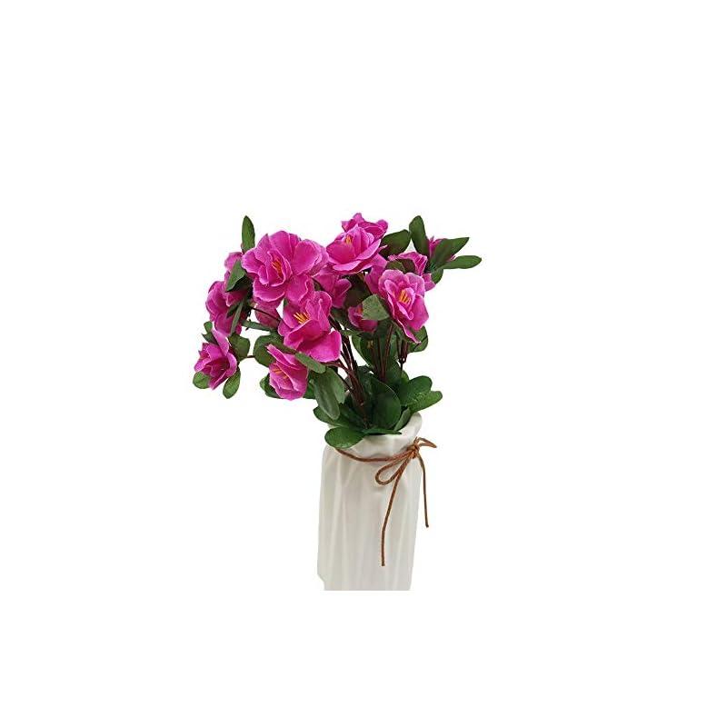 silk flower arrangements wansan artificial flowers fake flowers rhododendron bouquet for diy table home garden party bridal wedding decoration
