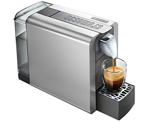 Cremesso Compact One II shiny silver - Kaffeekapselmaschine für das Schweizer Cremesso System