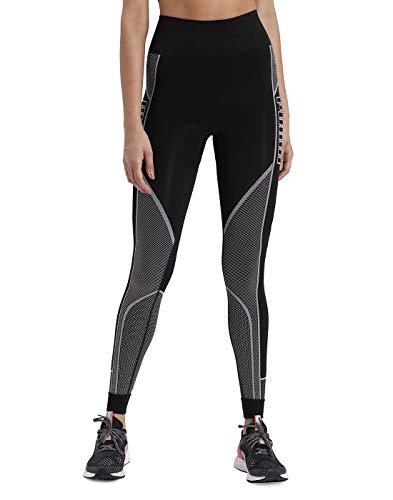 PUMA Damen Leggings Evostripe Evoknit 7/8, Black, L, 581246