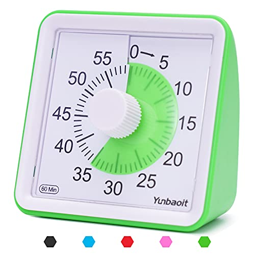 Visual Analog Timer and Countdown Clock