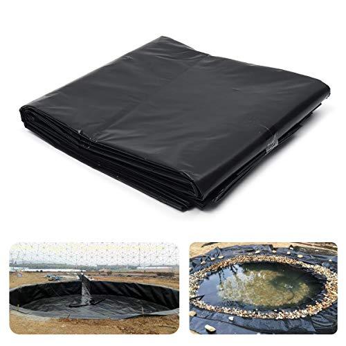 Zhuotop Direct Bâche de paillage en plastique résistant à l'eau pour bassin à poissons, multi-usages, 0,3 mm d'épaisseur (1 m x 1 m)