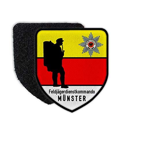 Copytec Feldjäger Dienstkommando Münster Bundeswehr MP FJg Btl Abzeichen Patch #32679