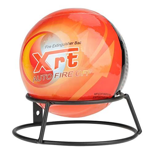 Ymiko Feuerlöscher Ball Easy Throw Stop Feuerverlust-Werkzeug Sicherheit Feuerlöscher Feuerlöschgerät mit Wandhalterung(0.5kg)