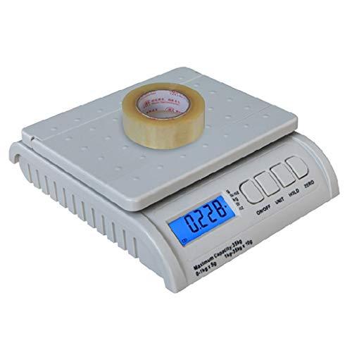 LICHUXIN Oksmsa Balanzas electrónicas, la Escala de la Cubierta Posterior, de Alta precisión expresan Entrega de la Tienda en línea balanza Paquete balanza electrónica (Size : 35kg/5g)
