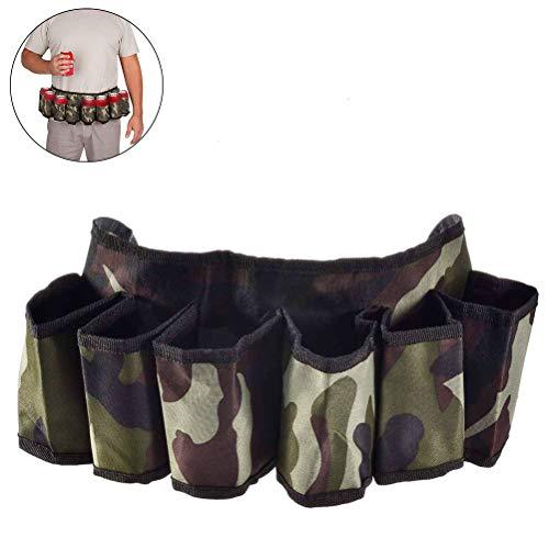 IjsEyen Bier in maat Soda Can Belt verstelbare camouflage reistas voor wandelen camping picknick strand BBQ