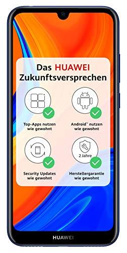 HUAWEI Y6s Dual-SIM Smartphone 15,46 cm (6,09 Zoll) (3020mAh Akku, 32 GB interner Speicher, 3GB RAM, Android 9.0) Orchid Blue