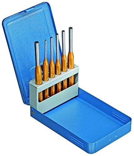 GEDORE SB 116 D Splinttreiber-Satz 6-teilig in Metallklappkassette, Blau