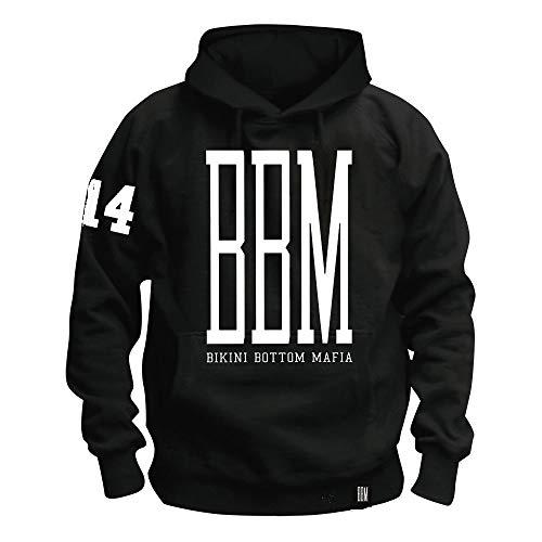 \m/-\m/ SPONGEBOZZ - BBM Logo - Black - Kapuzenpullover/Hoodie Größe M