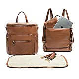 Leather Diaper Bag Backpack by Miss Fong, Baby Registry...